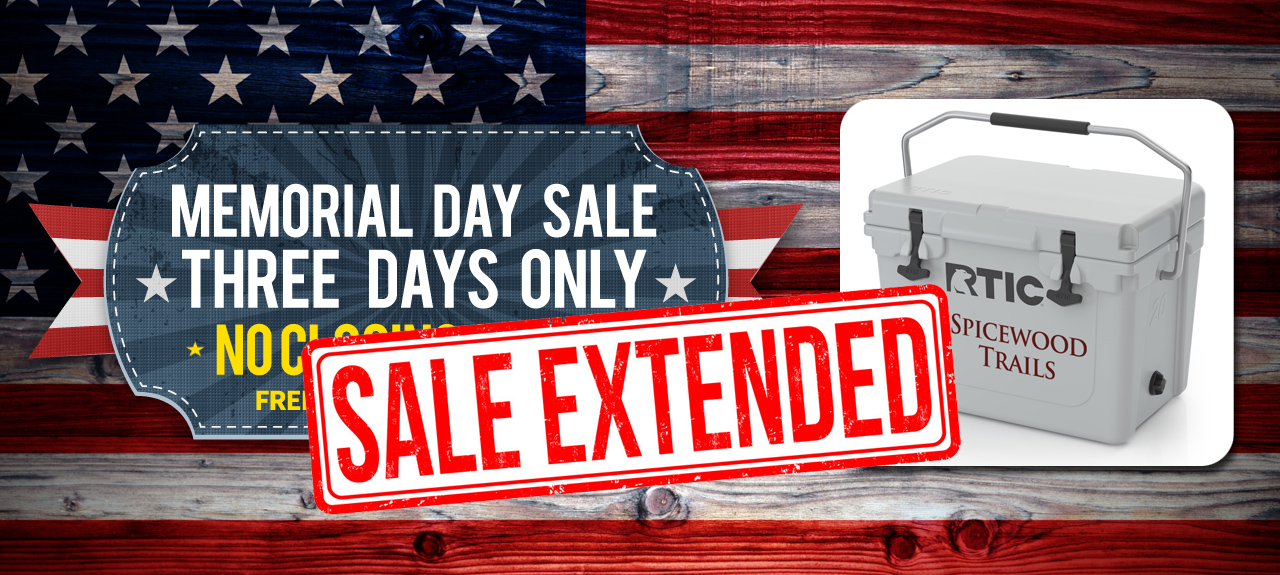 Spicewood Trails Memorial Day Sale